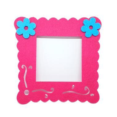 28Fashion Kotak Bunga Dekorasi Lampu Saklar - Pink