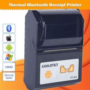 harga Unik GOOJPRT POS Bluetooth Thermal Receipt Printer 58mm - JP-PT200 Murah Blibli.com
