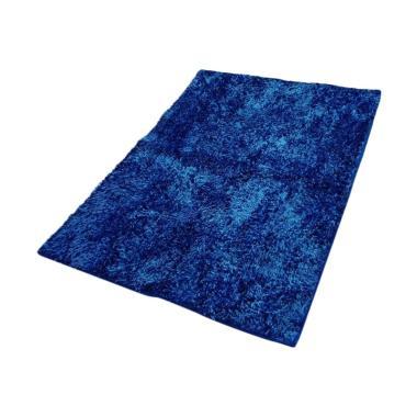 Dinemate Glossy Karpet Cendol - Biru [150 x 200 cm]