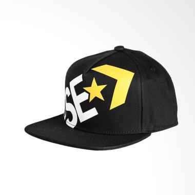Converse Wrap Around Snapback - Black [CON6546-001]