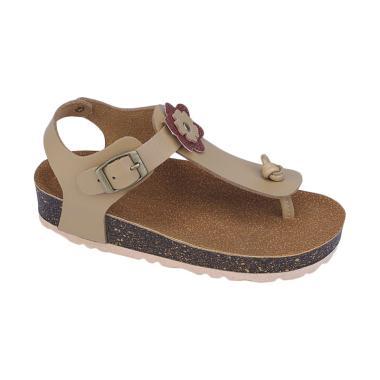 Syaqinah 222 Sandal Anak Perempuan - Cream