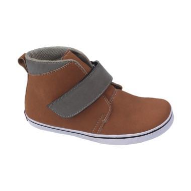 Syaqinah 073 Sepatu Boots Anak Laki-Laki - Cokelat