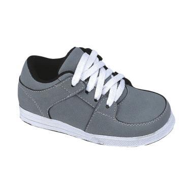 Syaqinah 034 Sepatu Sneakers Anak Laki-Laki - Abu