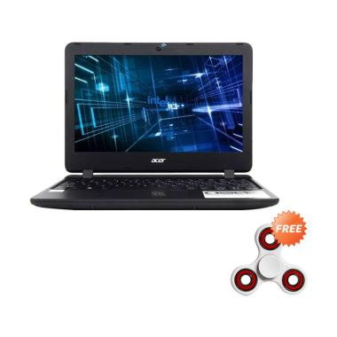 Acer ES1-132 Notebook - Black [N335 ... 10] + Free Fidget Spinner