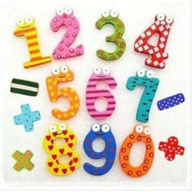 harga Mainan Edukasi Magnet Kulkas Alfabet - Angka - Angka Blibli.com