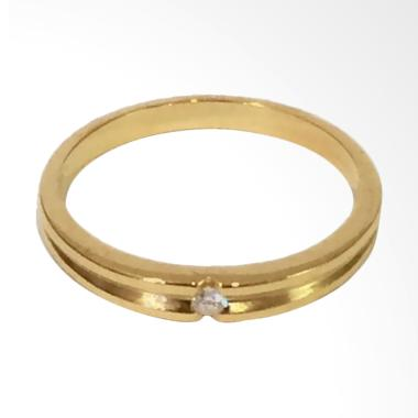 Pentacles FC02327 Wedding Ring Yellow Gold With Diamond