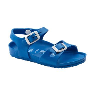 Birkenstock 1003535 Rio Eva Kids Sepatu Sandal Anak - Scu Blue