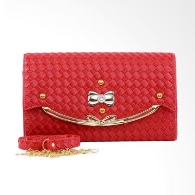 Garucci TSD 4091 Tas Pesta Wanita - Merah