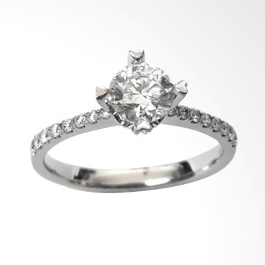 Pentacles SRK1458 White Gold Ring With Diamond