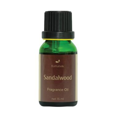 Bathaholic Sandalwood Aromatherapy Oil [15 mL]