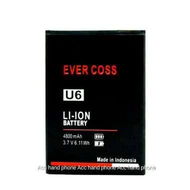 harga Premium Baterai Handphone Evercoss U6 Xtream 1 Plus Original Oem Berkualitas Blibli.com