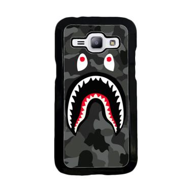 Acc Hp Bape Shark Hoodie Camo W5258 Custom Casing for Samsung J1 Ace