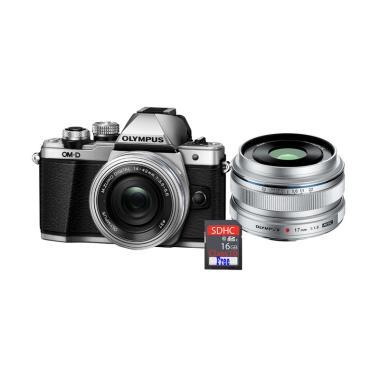 Olympus OMD EM10 MARK II KIT 14-42m ... + Free SDHC 16GB - Silver
