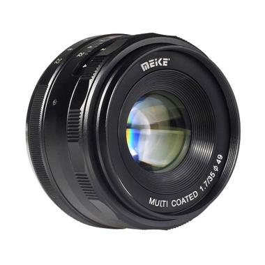Meike 35mm F1.7 Lensa Kamera for Mirrorless Sony E-Mount