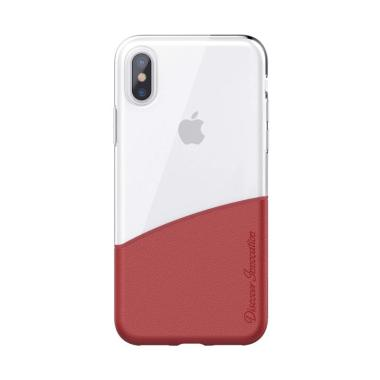 Nillkin Half Case Backcase Casing f ... or Apple Iphone 10 - Red
