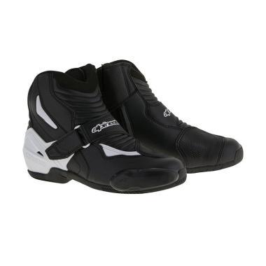 Alpinestars SMX-1 R Sepatu Touring - Black White [Original]