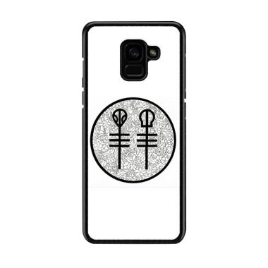 Acc Hp Twenty One Pilots Floral Pie ... asing for Samsung A5 2018