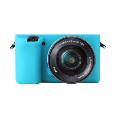 Godric Silicone Sony Alpha A6000 A6 ...  Kamera Mirrorless - Biru
