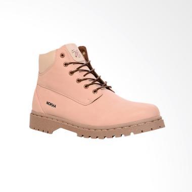 NOKHA Arlo Sepatu Boots Wanita - Pink