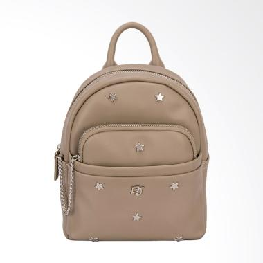 David Jones CM3701 Mini Backpack Wanita - Camel