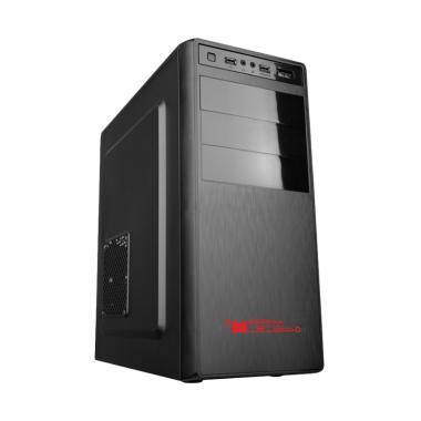 Alcatroz Futura 3000 Casing Komputer - Black