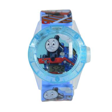 OEM DnB COLLECTION Thomas Projector Jam Tangan Anak - Biru Muda