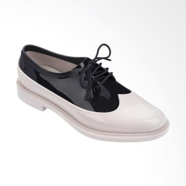 Melissa Brogue Sepatu Wanita - Beige Black