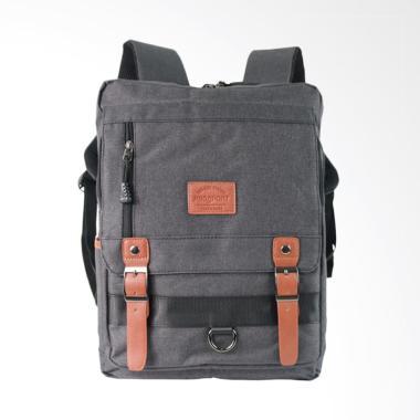 45bc14fb426 ProSport Backpack Pria - Black [648-17]