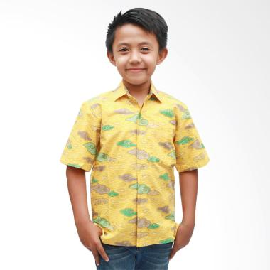 Aamir Kinsler BA 27 Kemeja Batik Anak - Kuning