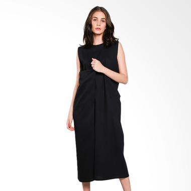 Nikicio Kalem Panjang Dress - Black