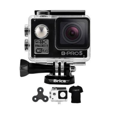 Brica B-PRO 5 Alpha Edition 1 AE1 4K  Action Camera + Spin - Hitam