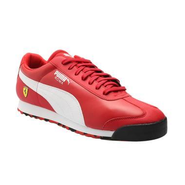 PUMA Men Scuderia Ferrari Roma Shoe ... ga Pria - Red [306083 01]