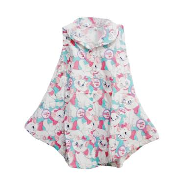 Nayshop Umbrella Cat Dress Anak - White