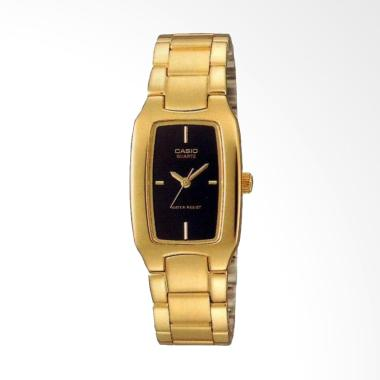 CASIO LTP-1165N-1CRDF Rectangle Sha ...  Jam Tangan Wanita - Gold
