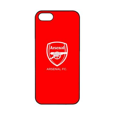 Acc Hp Arsenal Logo Red O0219 Custo ... for iPhone 5 or iPhone 5S