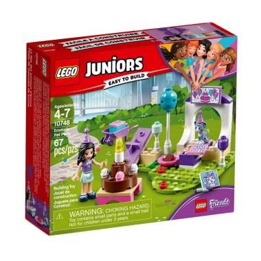 LEGO 10748 Juniors Emma's Pet Party Mainan Edukasi