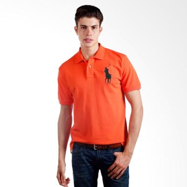 POLO RALPH LAUREN Custom Fit S-S Po ... et Orange - X04A02E05HU -