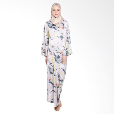 Covering Story D Ceila Dress Muslim Wanita - Brown