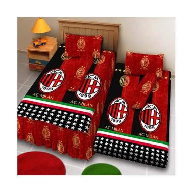 Kintakun Sprei 2in1 D'Luxe - 120 x 200 (Single) - AC Milan