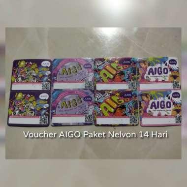 harga Voucher AIGO Telvon 14 Hari Blibli.com