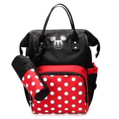 harga Mickey minnie diaper bag tas perlengkapan bayi popok 2 in 1 Multicolor Blibli.com
