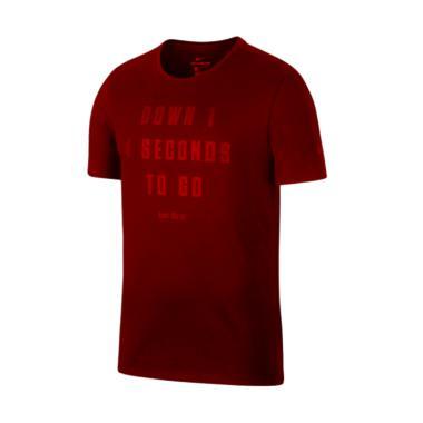 Nike Men Basketball Down 1 Dry Tee T-Shirt Pria [913500-677]