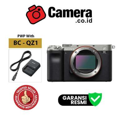 harga CAMERA.CO.ID - Sony Alpha A7C Sony A7C Sony A 7C Sony A7 C kit 28-60mm Garansi Resmi BC-QZ1-S Blibli.com