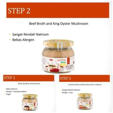 harga Yummy Bites Meal Step 2 - Chicken Broth and Rice Blibli.com