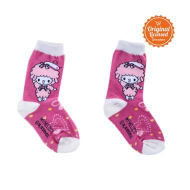 My Melody MM7-08-FUS Baby Sock Kaos Kaki Anak - Fushia [5-8 Tahun]