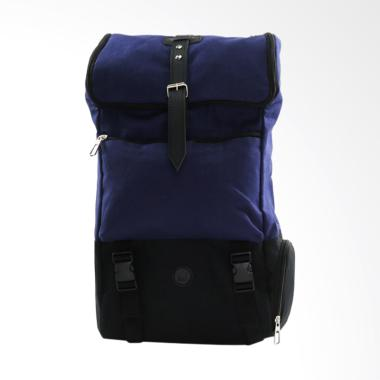 Pulcher Bags Aries Tas Ransel Unisex - Navy + Free Pouch