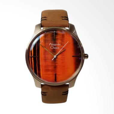 Alexandre Christie Signature Jam Ta ... ght Gold Brown [AC8532MH]
