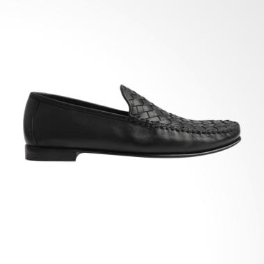Gino Mariani Patrick Exclusive Cow Leather Formal Men's Shoes - Black