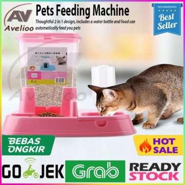 harga Unik Tempat Makan Anjing Kucing Automatic Pet Food Dispenser Otomatis Berkualitas Blibli.com