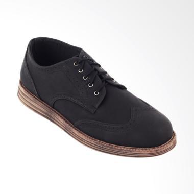 Navara Brad Sepatu Sneakers Casual Pria - Black